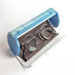 thump.jpg Télécharger fichier STL gratuit Etui - étui à lunettes | charnière vivante | pliage 3D-Print • Plan pour impression 3D, sotenck