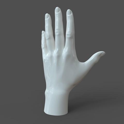 SH_model1_detail0c.150.jpg Download STL file Casual Woman Hand Model F1P1D0V1hand • Design to 3D print, solidhumans