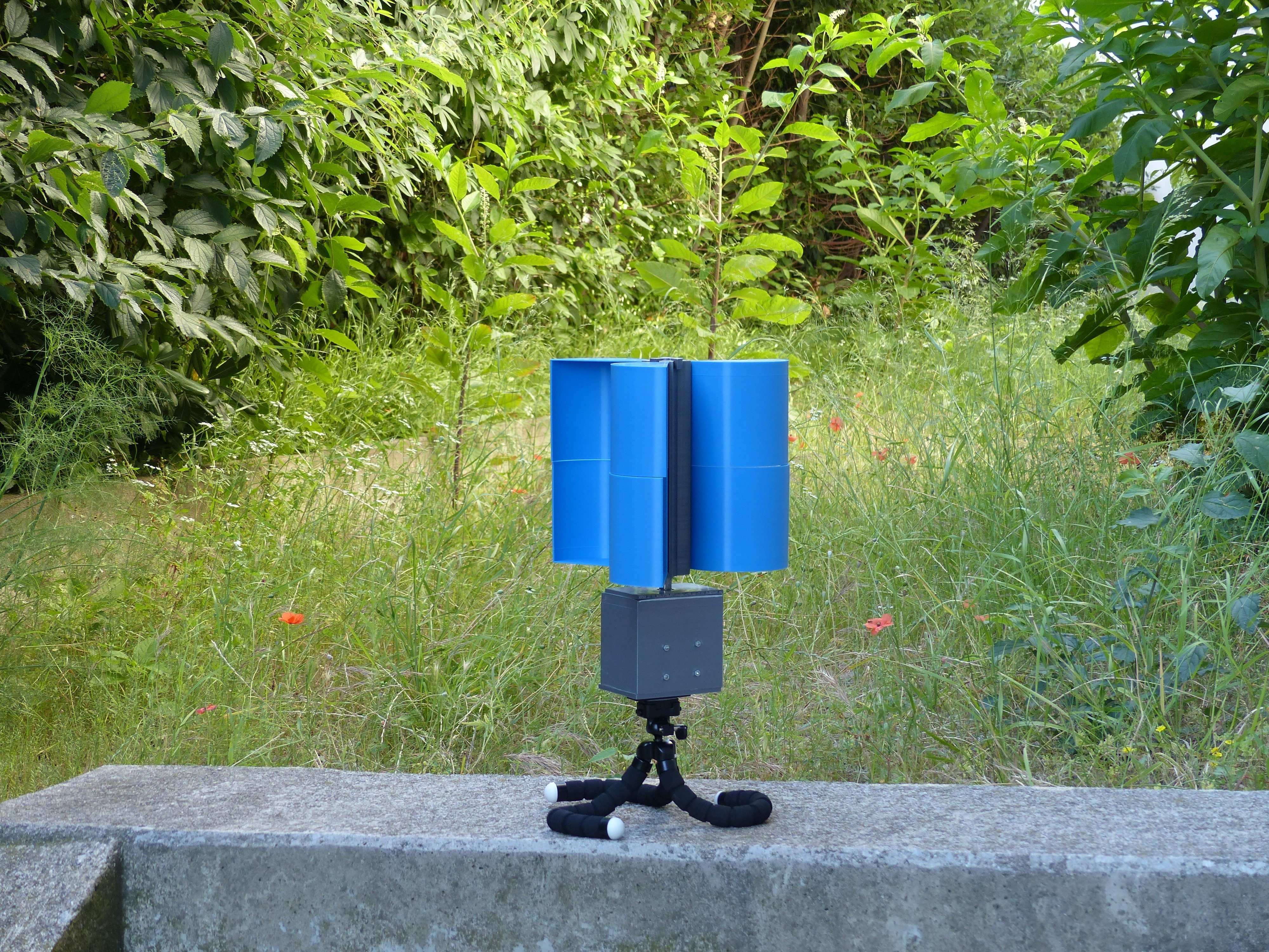 P1120460.JPG Download STL file Removable portable wind turbine • 3D printable template, younessanga