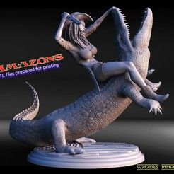 1ery5tt.jpg Download STL file New Amazons • Object to 3D print, walades