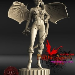 untitled.756.jpg Download STL file Battle Angel warrior one • 3D printable model, walades