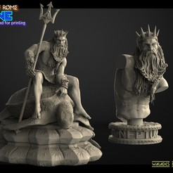 1ропрпв.jpg Download STL file Neptune • 3D print object, walades
