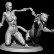 Download 3D printing files amazonka with panther, walades
