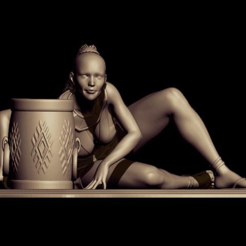 BPR_Render savage.png2.png Download free STL file savage dance • 3D print template, walades