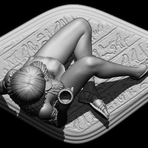 33BPR_Render.jpg Download OBJ file Egyptifn Queen • 3D print model, walades