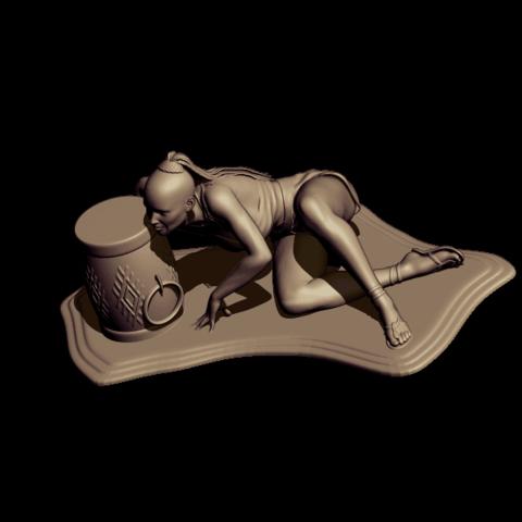 BPR_Render savage.png3.png Download free STL file savage dance • 3D print template, walades