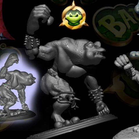 Download STL BATTLE TOADS, walades