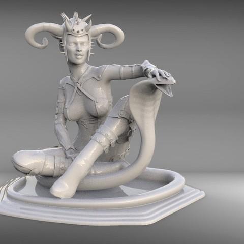 3D print model soul snake, vovavolnuhin