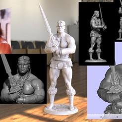 3D printer models conan, vovavolnuhin