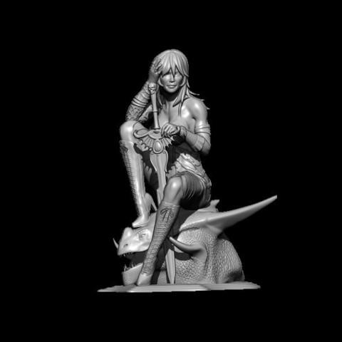 BPR_Render2.jpg Download STL file dragon head • Design to 3D print, walades