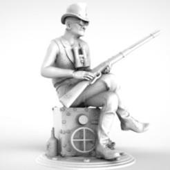 Descargar modelo 3D ancle sam, walades