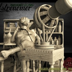 1енгнн.jpg Download STL file Astronomer • 3D printer design, walades