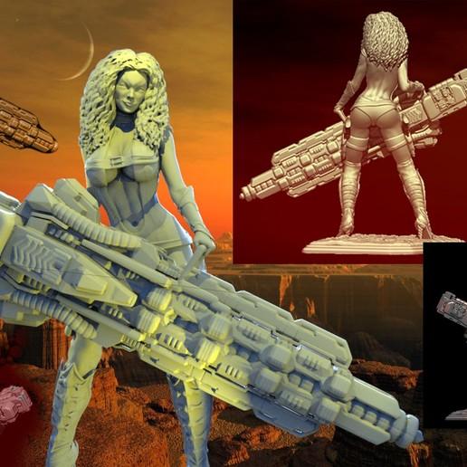 Descargar archivos 3D elegante asesino, walades