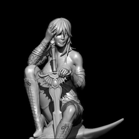 BPR_Render3.jpg Download STL file dragon head • Design to 3D print, walades