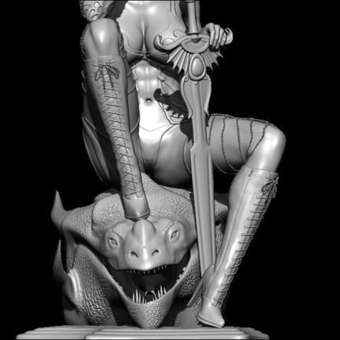 BPR_Render5.jpg Download STL file dragon head • Design to 3D print, walades