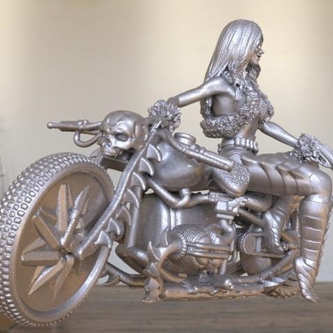 Imprimir en 3D ciclista demoníaco, walades
