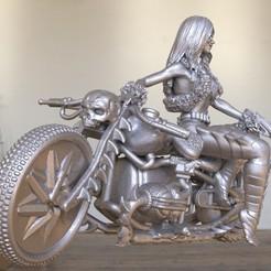 STL motard démoniaque, vovavolnuhin