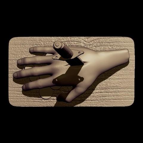 BPR_Render knife 1.jpg Download OBJ file knife • 3D print design, walades