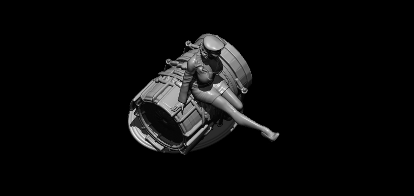 5.jpg Télécharger fichier STL officier de l'air • Objet à imprimer en 3D, walades
