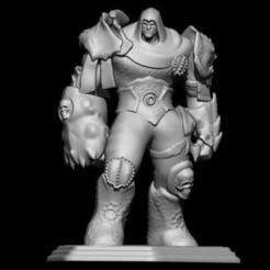 Descargar modelos 3D para imprimir muerte del guerrero, walades