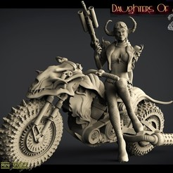 1ввапп.jpg Download STL file daughters of anarchy 2 • 3D printable design, walades