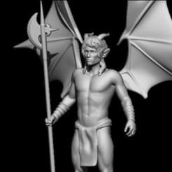 Descargar modelos 3D para imprimir demoníaco, walades