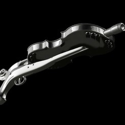 Modelos 3D para imprimir Pistola de decaimiento Paganini, vovavolnuhin