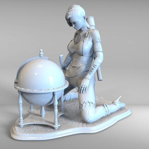 Descargar modelo 3D punk de ensueño, vovavolnuhin