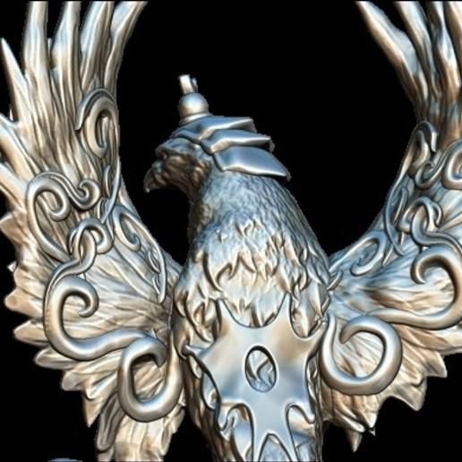 3.jpg Télécharger fichier STL gratuit serpent aigle • Modèle à imprimer en 3D, walades