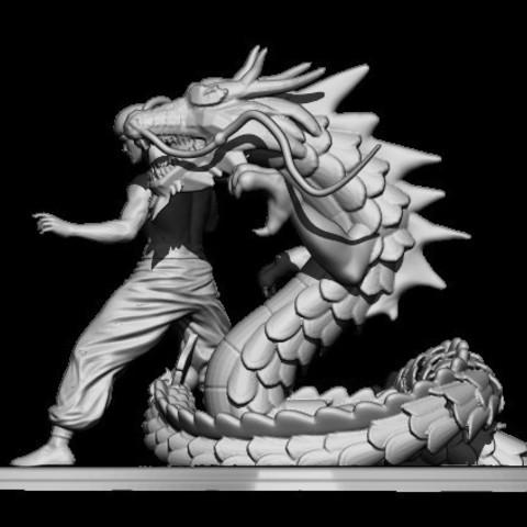 3BPR_Render.jpg Télécharger fichier STL dragon bruce lee • Modèle imprimable en 3D, walades