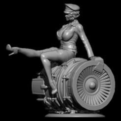 Download STL file air officer • 3D printing model, walades