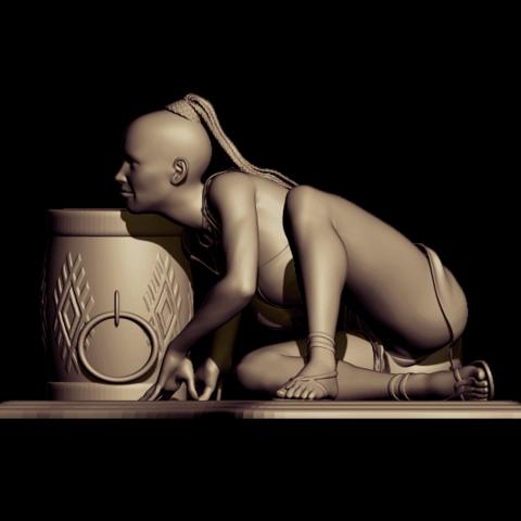 Télécharger fichier STL gratuit danse sauvage • Design à imprimer en 3D, walades
