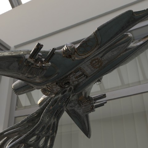 Impresiones 3D Starship 1, walades