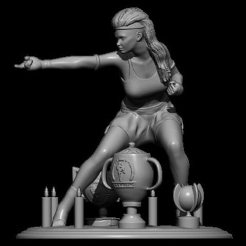 Descargar modelos 3D para imprimir campeona, walades