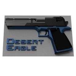 3D printer file Desert Eagle Relief, Keitho
