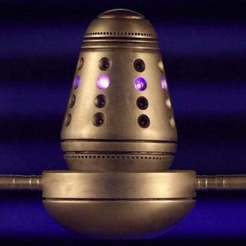 Download free 3D printer templates Doctor Who - Dalek Projenitor, Wulf359