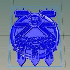 Télécharger fichier STL gratuit Sceau d'impureté de Khorne, style Warhammer • Objet à imprimer en 3D, Wulf359