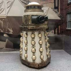 Download free 3D printer designs Doctor Who - Special Weapons Dalek, Wulf359