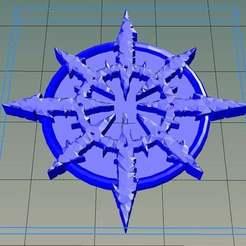 Télécharger fichier STL gratuit Sceau d'impureté de style Warhammer • Objet pour impression 3D, Wulf359