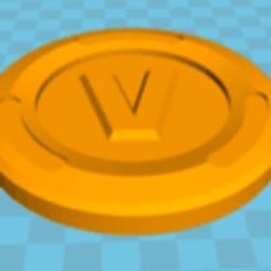 Free V Buck Fortnite 3D printer file, sanaiseif79