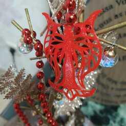 Angel Arbol.jpeg Download STL file Christmas tree angel • 3D printing object, alonsothander