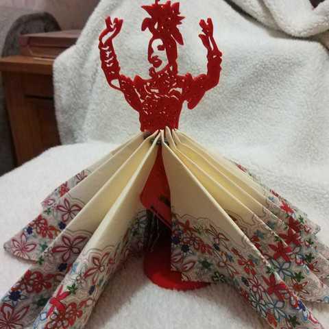 Download 3D printing designs Napkin ring Carmen Miranda, alonsothander