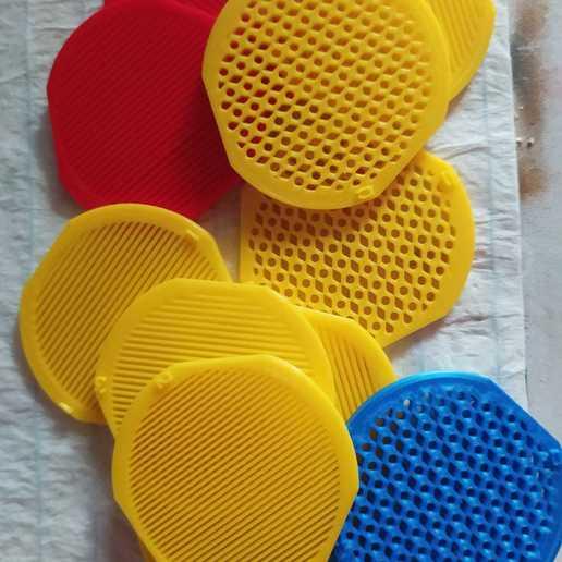 Filtros _075 2020-05-05.jpeg Download free STL file 0.75mm FILTERS FOR SIDE BREATHING MASKS • Model to 3D print, alonsothander