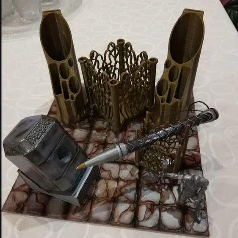 Download free 3D printing files THOR Desk, alonsothander