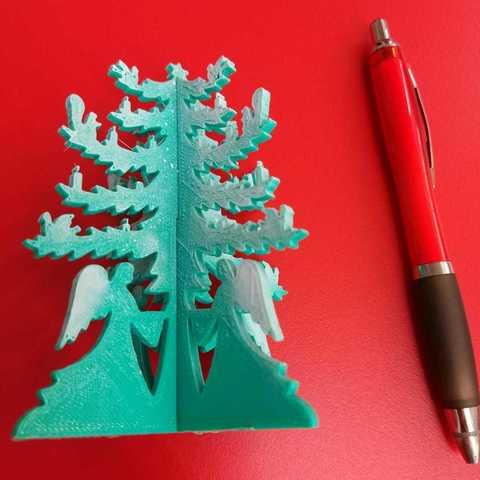 Download 3D printer model Christmas Tree, alonsothander