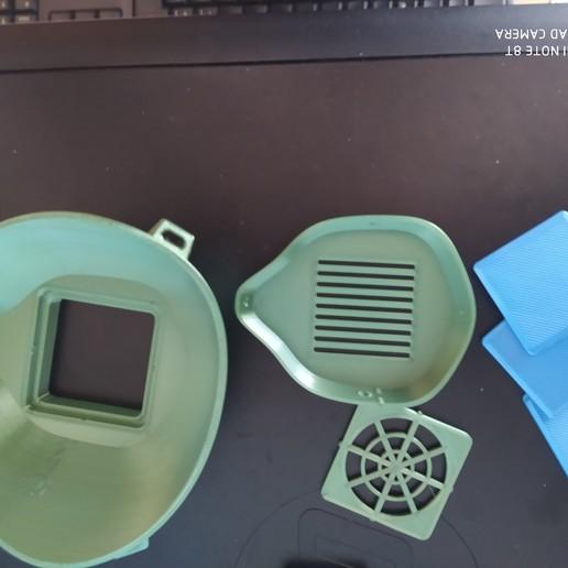 IMG_20200414_113526.jpg Download free STL file #3DvsCOVID19 MASK FILTER COVID-19 • 3D print model, alonsothander