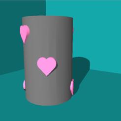 Descargar archivos STL gratis Porta lápices - el amor por la limpieza, ChloeHFD
