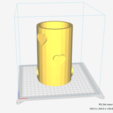 Free 3D printer designs Pencil holder - the love of tidying up, ChloeHFD