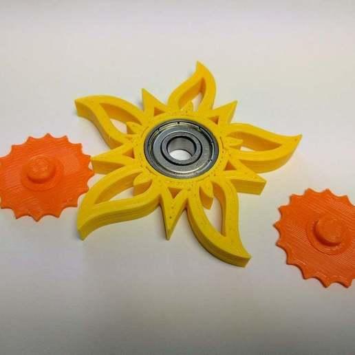 2017-05-12_11.41.11.jpg Télécharger fichier STL gratuit La Tourneuse de soleil Fidget | 608ZZ • Plan pour imprimante 3D, Greg_The_Maker