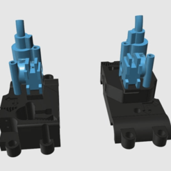 Download free STL file BigBox IDEX Bowden Zesty Nimble Adaption • Template to 3D print, Greg_The_Maker